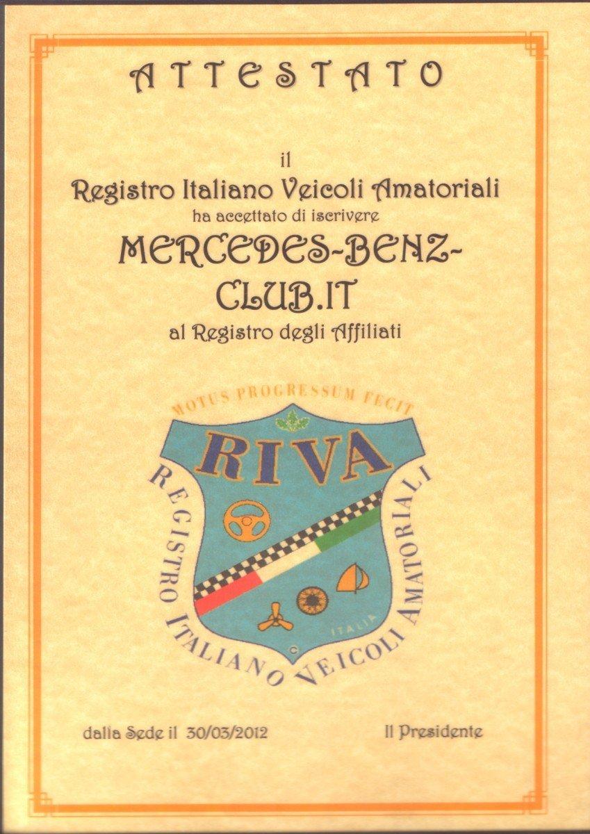 Mercedes-Benz-Club.it R.I.V.A.