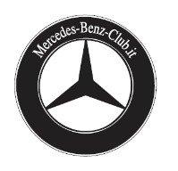 Adesivo del Mercedes-Benz-Club.it (coppia)