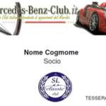 Mercedes-Benz-Club.it Prima Iscrizione al Mercedes-Benz-Club.it per utenti SL Classic Club